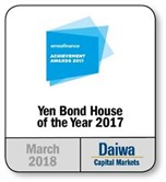 2017 Yen Bond House of the Year